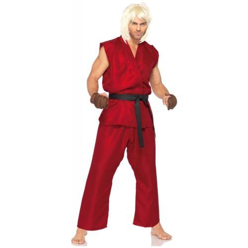 Street Fighter ハロウィン 大人用 衣装 Ken Masters Karate ハロウィン コスチューム コスプレ コスプレ 衣装 変装 仮装, うまいっす:30c48fc8 --- sunward.msk.ru