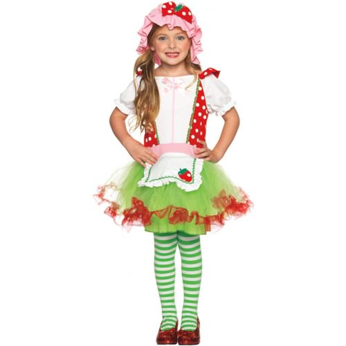 Strawberry Sweetie キッズ 子供用 Shortcake Cutie クリスマス ハロウィン コスチューム コスプレ 衣装 変装 仮装