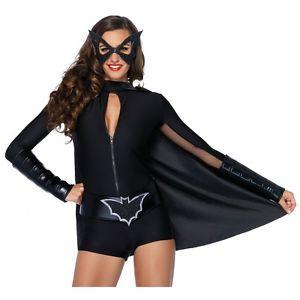バットガール 大人用 レディス 女性用 スーパーヒーロー Bat ガール クリスマス ハロウィン コスチューム コスプレ 衣装 変装 仮装
