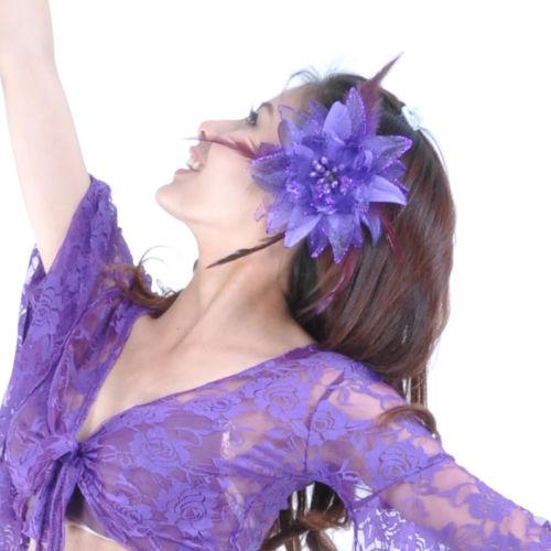 New Belly Dance Costume Brooches headdress flower 返品不可 11 colours 発表会 ダンス カラー セール開催中最短即日発送 headドレス コスチューム 衣装 ベリーダンス