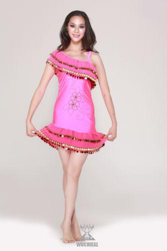 ベリーダンス 衣装 ラテン サルサ tango Cha Cha Ballroom フラメンコ ドレス 10 カラー コスチューム ダンス 衣装 発表会