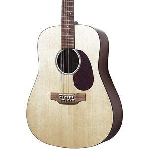マーチン Martin D12GTM Solid Top 12-String Dreadnought アコースティック ギター アコギ Natural