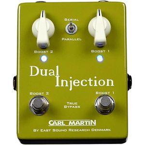 【全品P5倍】Carl マーチン Martin Dual Injection Overdrive ギター ペダル