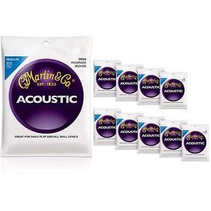 マーチン Martin M550 Medium Phosphor Bronze アコースティック ギター アコギ Strings 10-Pack