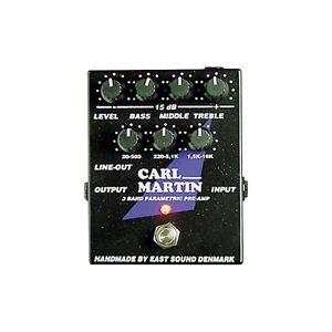 Carl マーチン Martin 3-Band Parametric EQ/Pre-amp