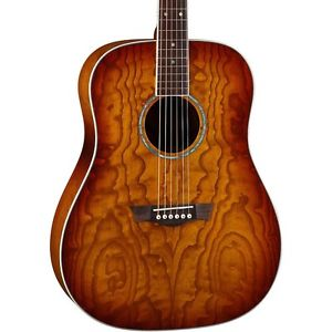 【全品P5倍】ディーン Dean AXS Dread Quilt Acoustic Guitar Tobacco Sunburst