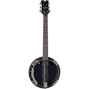 【全品P5倍】ディーン Dean Backwoods 6 Banjo Pickup Black Chrome Black Chrome