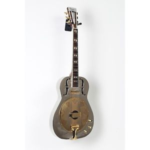 【全品P5倍】ディーン Dean Chrome G Acoustic-Electric Resonator Guitar Chrome/Gold 888365618111