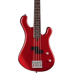 ディーン Dean Hillsboro Junior 3/4 Size Electric Bass Guitar Metallic Red