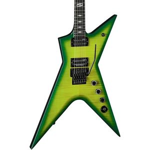ディーン Dean Stealth Floyd Rose Flame Maple Dime Slime