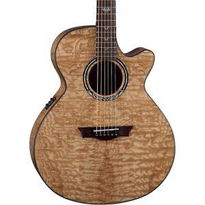 ディーン Dean Performer Ultra Quilt Acoustic-エレキギター エレクトリックギター Natural