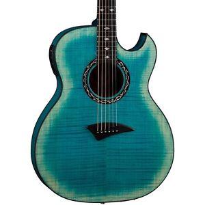 ディーン Dean Exhibition Flame Maple Acoustic-エレキギター エレクトリックギター with Aphex Faded denim LN