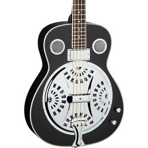 ディーン Dean Resonator Acoustic-Electric Bass Classic Black
