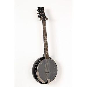 【全品P5倍】ディーン Dean Backwoods 6 Banjo w/Pickup - Black Chrome Black Chrome 888365605739