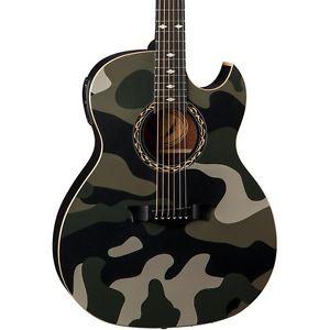 ディーン Dean Exhibition Acoustic-エレキギター エレクトリックギター Camo