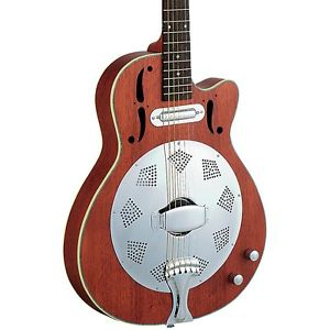 ディーン Dean CE Cutaway Acoustic-Electric Resonator Guitar Natural LN