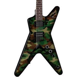 ディーン Dean Dimebag Dime Camo ML Custom Graphic