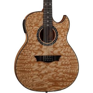ディーン Dean Exhibition Quilt Ash 12-String Acoustic-エレキギター エレクトリックギター Aphex Gloss Natural