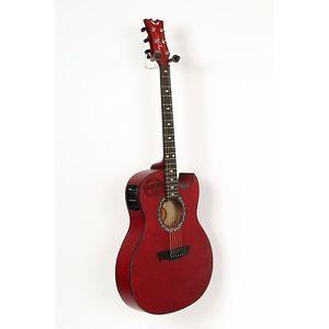 ディーン Dean Exhibition Flame Maple Acoustic-エレキギター エレクトリックギター Aphex Trans Red 88365576626