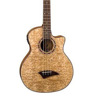 ディーン Dean Exotica Quilted Ash Acoustic-Electric Bass Natural
