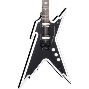 ディーン Dean Dimebag Razorback DB エレキギター エレクトリックギター Floyd Rose Bridge Black and White LN