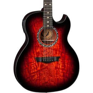 ディーン Dean Exhibition Quilt Ash Acoustic-エレキギター エレクトリックギター with Aphex Tiger Eye