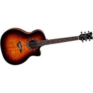 ディーン Dean Exotica Ultra Quilt Ash Acoustic-エレキギター エレクトリックギター Trans Brazilia LN