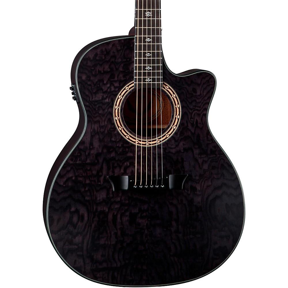 【全品P5倍】ディーン Dean Exotica Ultra Quilt Ash Acoustic-エレキギター エレクトリックギター Trans Black