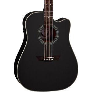 ディーン Dean St. Augustine Dread Cutaway Acoustic-エレキギター エレクトリックギター Classic Black