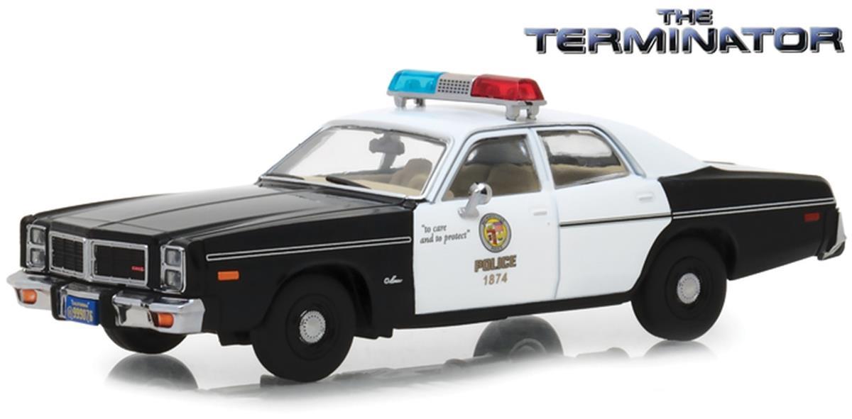 Greenlight The Terminator 1977 Metro Police|Fire|EMS ポリス /ファイア/EMS Dodge ダッジ Monaco 1/43 Scale スケール Diecast Model ダイキャスト ミニカー おもちゃ 玩具 コレク...