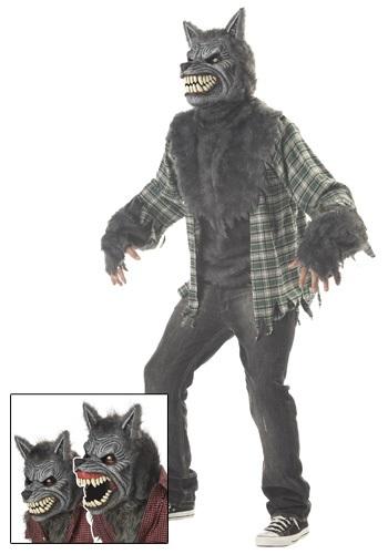 【ポイント最大29倍●お買い物マラソン限定!エントリー】Full Moon Werewolf コスチューム ハロウィン メンズ コスプレ 衣装 男性 仮装 男性用 イベント パーティ ハロウィーン 学芸会
