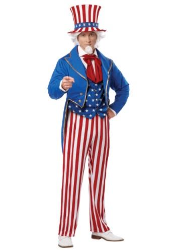【ポイント最大29倍●お買い物マラソン限定!エントリー】Mens Deluxe Uncle Sam コスチューム ハロウィン メンズ コスプレ 衣装 男性 仮装 男性用 イベント パーティ ハロウィーン 学芸会