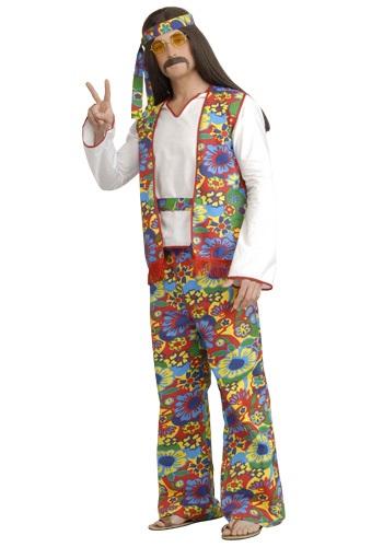 【ポイント最大29倍●お買い物マラソン限定!エントリー】大きいサイズ Men's Hippie コスチューム ハロウィン メンズ コスプレ 衣装 男性 仮装 男性用 イベント パーティ ハロウィーン 学芸会