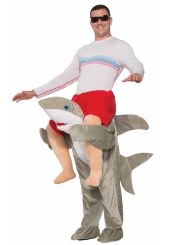 【ポイント最大29倍●お買い物マラソン限定!エントリー】Ride a Shark 大人用 コスチューム ハロウィン メンズ コスプレ 衣装 男性 仮装 男性用 イベント パーティ ハロウィーン 学芸会