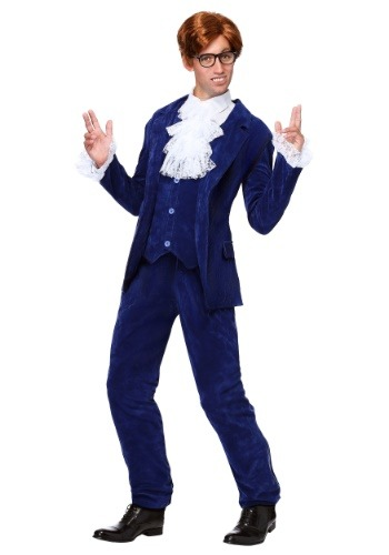 【ポイント最大29倍●お買い物マラソン限定!エントリー】Deluxe Blue 60s Swinger コスチューム ハロウィン メンズ コスプレ 衣装 男性 仮装 男性用 イベント パーティ ハロウィーン 学芸会