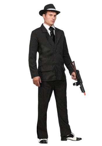 【全品P5倍】Deluxe Pin Stripe Gangster コスチューム Suit クリスマス ハロウィン メンズ コスプレ 衣装 男性 仮装 男性用 イベント パーティ ハロウィーン 学芸会