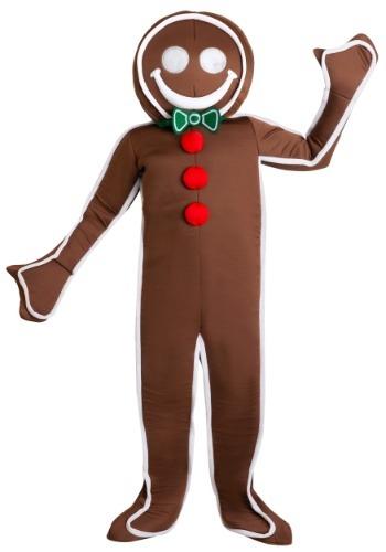【ポイント最大29倍●お買い物マラソン限定!エントリー】Iced Gingerbread Man Men's コスチューム ハロウィン メンズ コスプレ 衣装 男性 仮装 男性用 イベント パーティ ハロウィーン 学芸会