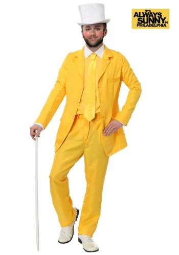 【ポイント最大29倍●お買い物マラソン限定!エントリー】Always Sunny Dayman Yellow Suit コスチューム ハロウィン メンズ コスプレ 衣装 男性 仮装 男性用 イベント パーティ ハロウィーン 学芸会