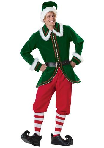 大人用 Santa's Elf コスチューム クリスマス ハロウィン メンズ コスプレ 衣装 男性 仮装 男性用 イベント パーティ ハロウィーン 学芸会 学園祭 学芸会 ショー お遊戯会 二次会 忘年会 新年会 歓迎会 送迎会 出し物 余興 誕生日 発表会 バレンタイン ホワイトデー