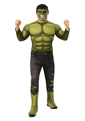 【ポイント最大29倍●お買い物マラソン限定!エントリー】Marvel アベンジャーズ Endgame Deluxe Incredible Hulk Mens コスチューム ハロウィン メンズ コスプレ 衣装 男性 仮装 男性用 イベント パーティ ハロウィーン 学芸会