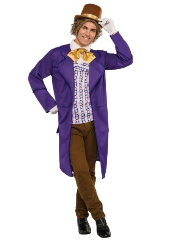 【ポイント最大29倍●お買い物マラソン限定!エントリー】Men's Deluxe Willy Wonka コスチューム ハロウィン メンズ コスプレ 衣装 男性 仮装 男性用 イベント パーティ ハロウィーン 学芸会