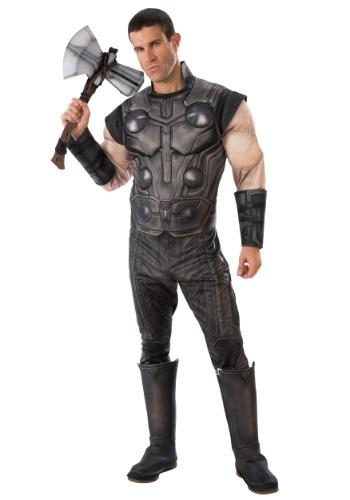 【ポイント最大29倍●お買い物マラソン限定!エントリー】Marvel Infinity War Deluxe Thor Men's コスチューム ハロウィン メンズ コスプレ 衣装 男性 仮装 男性用 イベント パーティ ハロウィーン 学芸会