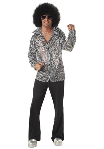 【ポイント最大29倍●お買い物マラソン限定!エントリー】Mens ディスコ Shirt ハロウィン メンズ コスプレ 衣装 男性 仮装 男性用 イベント パーティ ハロウィーン 学芸会