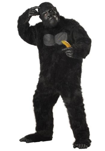 【ポイント最大29倍●お買い物マラソン限定!エントリー】大人用 Gorilla コスチューム ハロウィン メンズ コスプレ 衣装 男性 仮装 男性用 イベント パーティ ハロウィーン 学芸会