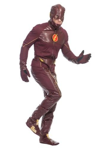 【ポイント最大29倍●お買い物マラソン限定!エントリー】Premium The Flash Men's コスチューム ハロウィン メンズ コスプレ 衣装 男性 仮装 男性用 イベント パーティ ハロウィーン 学芸会