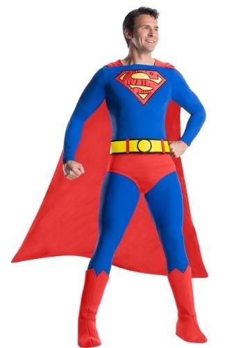 【ポイント最大29倍●お買い物マラソン限定!エントリー】Classic Premium Superman Men's コスチューム ハロウィン メンズ コスプレ 衣装 男性 仮装 男性用 イベント パーティ ハロウィーン 学芸会