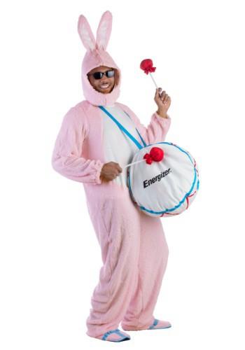 【ポイント最大29倍●お買い物マラソン限定!エントリー】大人用 Energizer Bunny Mascot コスチューム ハロウィン メンズ コスプレ 衣装 男性 仮装 男性用 イベント パーティ ハロウィーン 学芸会