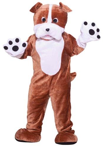 【ポイント最大29倍●お買い物マラソン限定!エントリー】Plush Bulldog Mascot コスチューム ハロウィン メンズ コスプレ 衣装 男性 仮装 男性用 イベント パーティ ハロウィーン 学芸会
