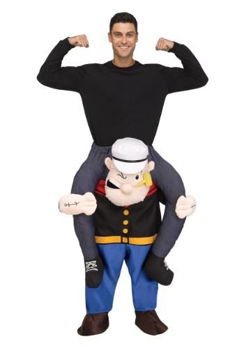 【ポイント最大29倍●お買い物マラソン限定!エントリー】Popeye Ride On 大人用 コスチューム ハロウィン メンズ コスプレ 衣装 男性 仮装 男性用 イベント パーティ ハロウィーン 学芸会