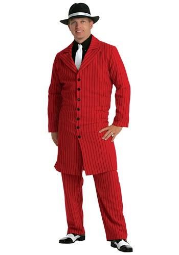 【ポイント最大29倍●お買い物マラソン限定!エントリー】大きいサイズ Red Gangster Zoot Suit コスチューム ハロウィン メンズ コスプレ 衣装 男性 仮装 男性用 イベント パーティ ハロウィーン 学芸会